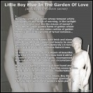 Little Boy Blue in the Garden of Love (abstract with Pushkin Sonnet)